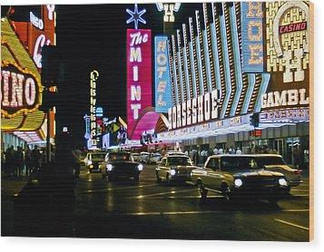 Las Vegas 1964  II Wood Print