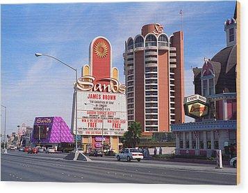 Las Vegas 1994 #1 Wood Print