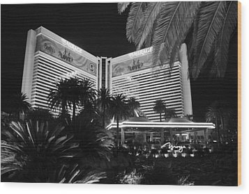 Las Vegas Wood Print by Athala Carole Bruckner