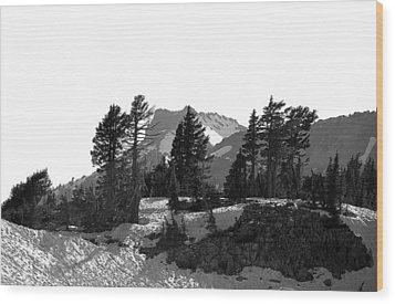 Wood Print featuring the photograph Lassen National Park by Lori Seaman