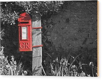 Last Post 4.30 Wood Print