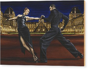 Last Tango In Paris Wood Print by Richard Young