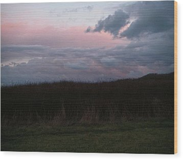 Wood Print featuring the photograph Late Light by Laurie Stewart