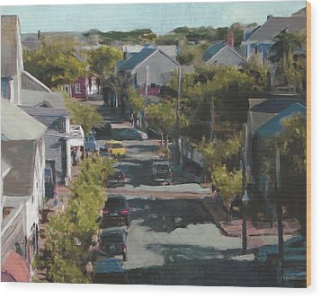 Late Summer Nantucket Wood Print