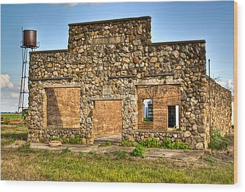 Laura Town Ghost Town In Arkansas  Wood Print by Douglas Barnett