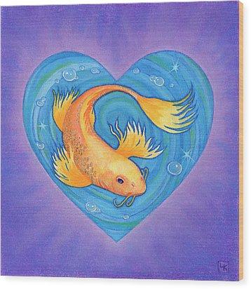 Laurie Wood Print by Lisa Kretchman