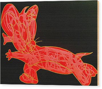 Lava Wood Print