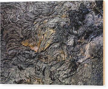 Wood Print featuring the photograph Lava by M G Whittingham