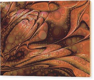 Lava Pop Wood Print