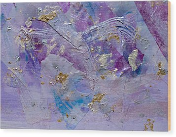 Lavender Haze Wood Print by Don  Wright