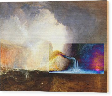 Layered 1 Turner Wood Print by David Bridburg