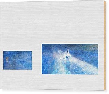 Layered 21 Turner Wood Print by David Bridburg
