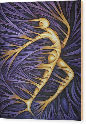 Layers Civ Wood Print