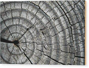 Layers Wood Print by Dan Holm