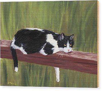Lazy Day Wood Print by Anastasiya Malakhova