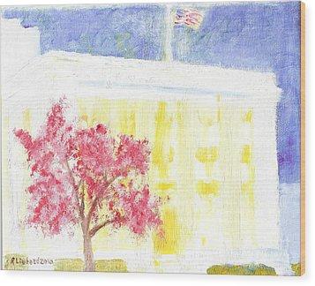 Lds Church Headquarters 2 Wood Print by Richard W Linford