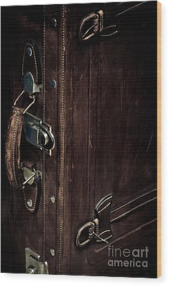 Leaving Wood Print by Gabriela Insuratelu
