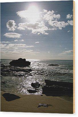 Leeward Sun Wood Print by Ashley Butler