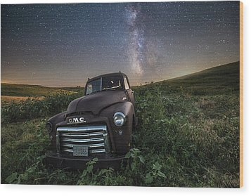 Wood Print featuring the photograph Left To Rust by Aaron J Groen