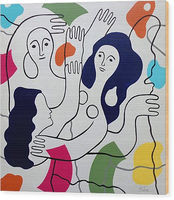 Leger Light And Loose Wood Print