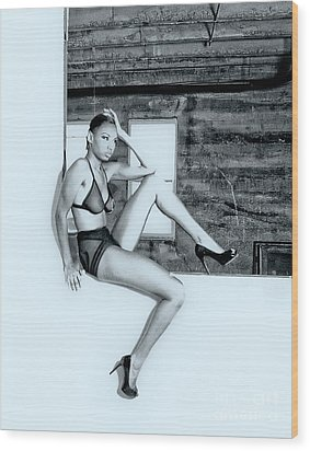 Legs IIi Wood Print