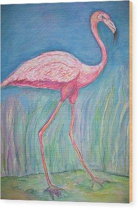 Legs Wood Print by Marlene Robbins