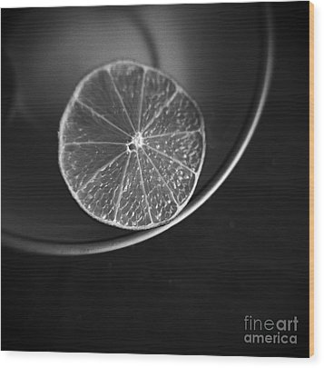 Lemon Wood Print by Andrey  Godyaykin