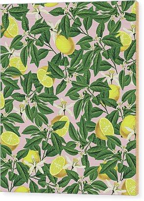 Lemonade Wood Print