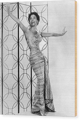 Lena Horne. Ca. 1950s. Courtesy Csu Wood Print by Everett