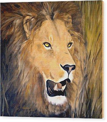 Leo Wood Print