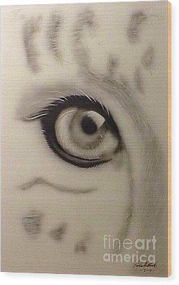 Leopard's Eye Wood Print