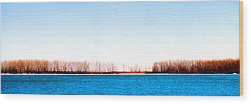 Wood Print featuring the photograph Leslie Spit From Cherry Beach 33 Dbae by Lyle Crump