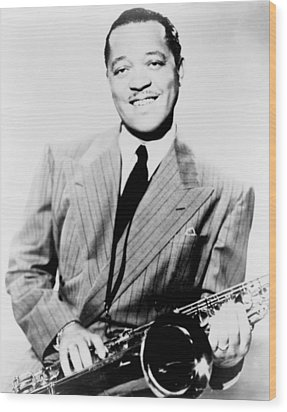 Lester Young 1909-1959, African Wood Print by Everett