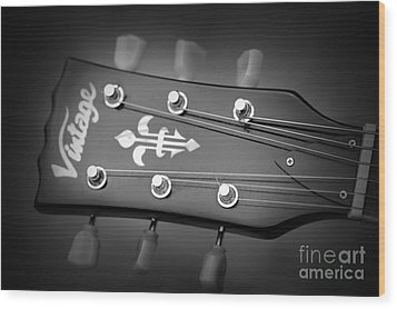 Let The Music Play Wood Print by Stephen Melia