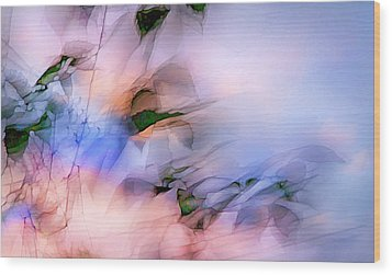 Let The Winds Of The Heavens Dance Wood Print by Theresa Tahara