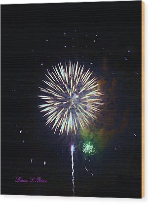 Wood Print featuring the photograph Lets Celebrate by Shana Rowe Jackson