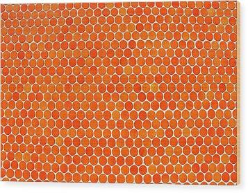 Let's Polka Dot Wood Print