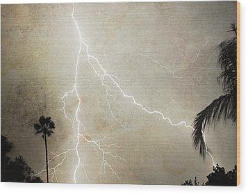 Let's Split Wood Print by James BO  Insogna
