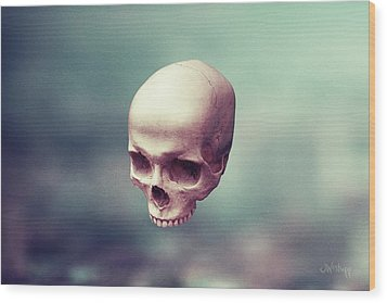 Wood Print featuring the digital art Levity by Joseph Westrupp