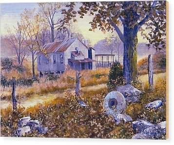 Levy Deas Grist Mill  Sold Wood Print