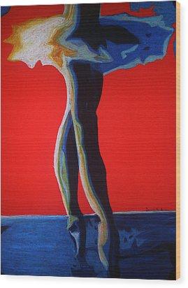 Leyla Wood Print by Dorneisha Batson