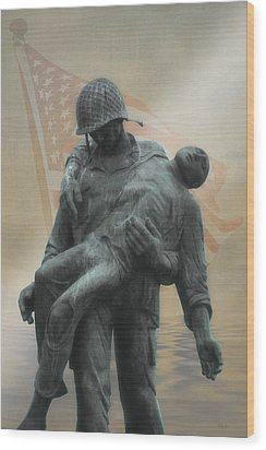 Liberation Monument Wood Print by Tom York Images