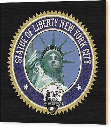 Liberty Wood Print by Gary Grayson