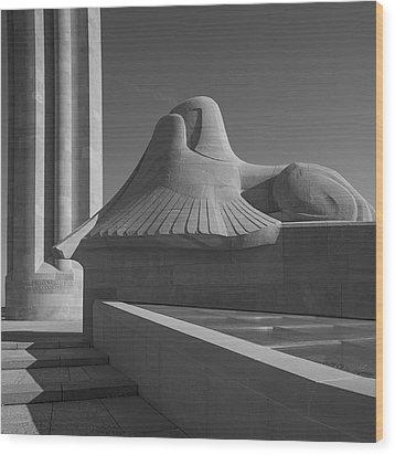 Liberty Memorial Kansas City Missouri Wood Print by Don Spenner