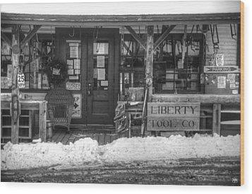 Liberty Tool Co Wood Print