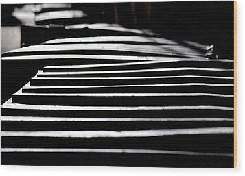 Lids Wood Print by David Gilbert