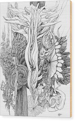 Life Force Wood Print