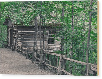 Wood Print featuring the photograph Life In The Ozarks by Annette Hugen