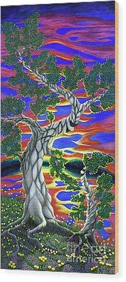 Life Of Trees Wood Print