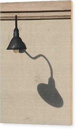 Light Angle Wood Print